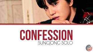 Infinite - Confession/Love Song (Sungjong Solo)