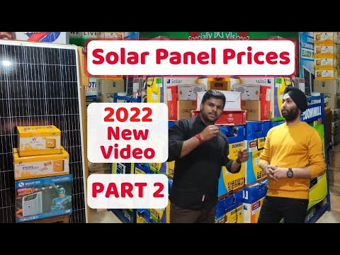 Solar Panel Price in India 2021 | Luminous, Microtek, Smarten Solar Panels Wholesale Price