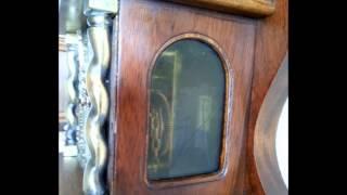 Warmink 8 Day Nut Wood Bim Bam Zaanse Wall Clock For Sale On Ebay Uk