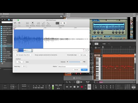 Reason Studios | Quick tip : How to Time shift and tighten up High Hats