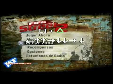 Trucos Fifa Street 2 Ps2 Desbloquear Todo | Playstation 2 | Juegos Sin Fronteras