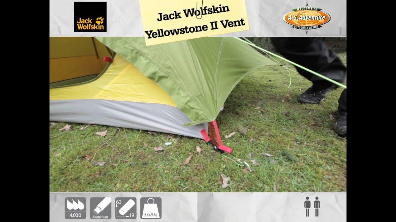 jack wolfskin zelt yellowstone ii