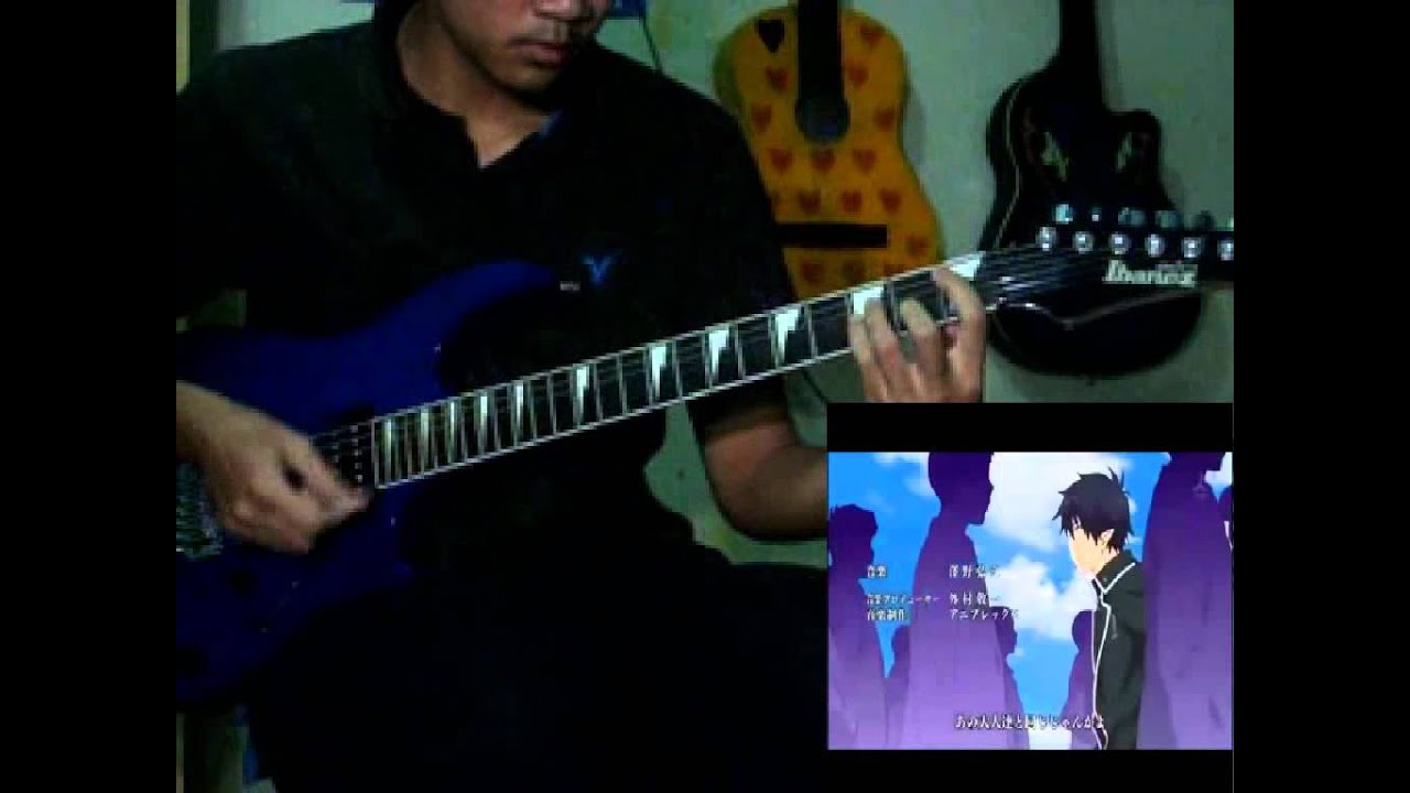 Ao no Exorcist - Core Pride (Guitar Cover) HD [TAB] - YouTube