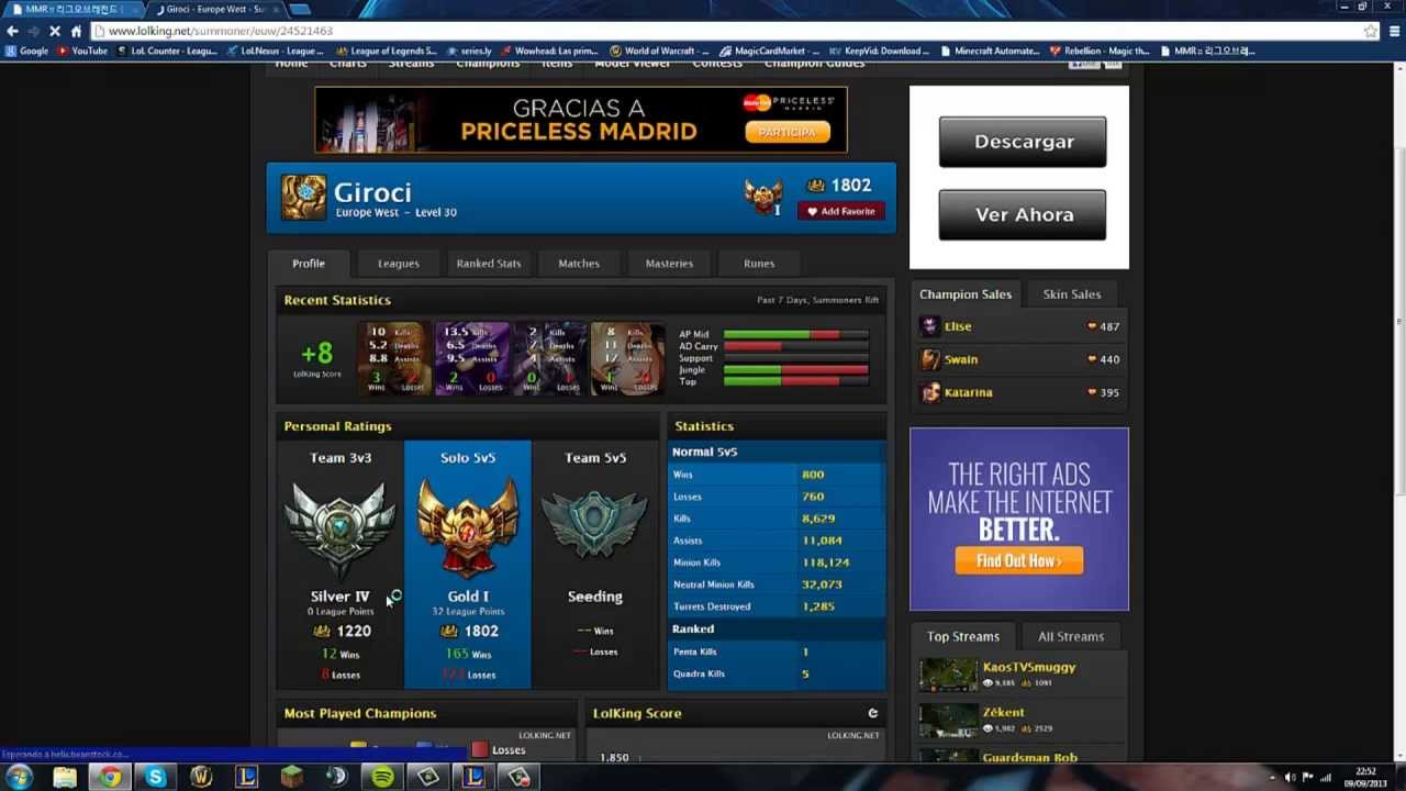 how to get an elo rating