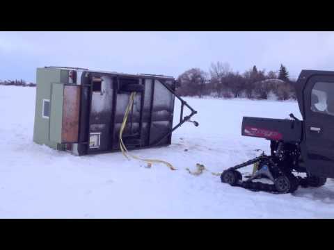 Ice Shacks DESTROYED !!!