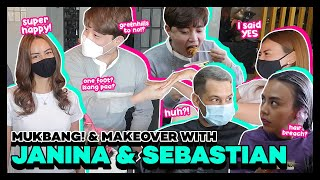 Hair Makeover at Moriduart with Janina Manipol and Sebastien Gilbert