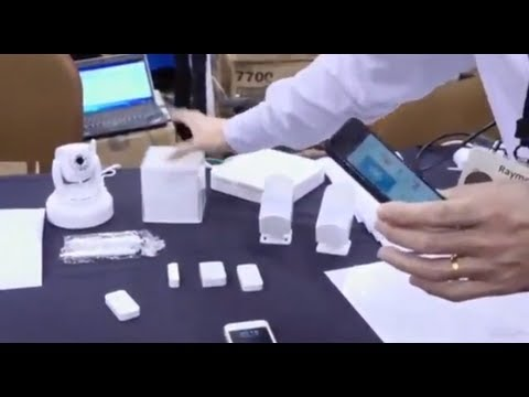 ISmart Alarm Home Security - Demo | TechCrunch At CES 2013