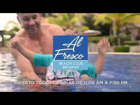AL FRESCO • Exclusive BEACH CLUB Restaurant At Los Sueños Resort And Marina