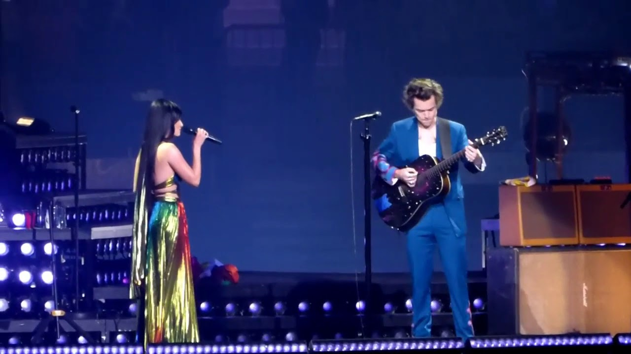 Harry styles kacey musgraves you 39 re still the one - Harry styles madison square garden ...