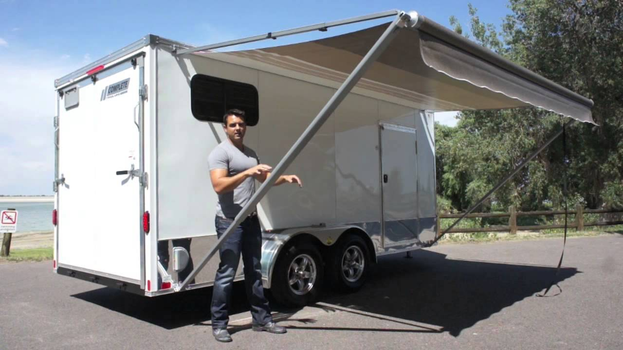 Preferred 7 X 16 Popout Camper - YouTube PL16