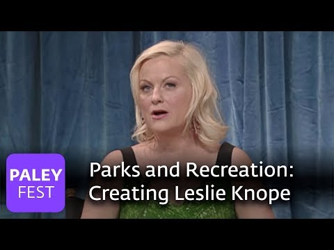 Parks and Recreation - Amy Poehler on Creating Leslie Knope