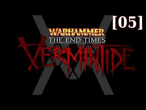 Прохождение Vermintide [05] - Black Powder, Engines of War - Гном-следопыт