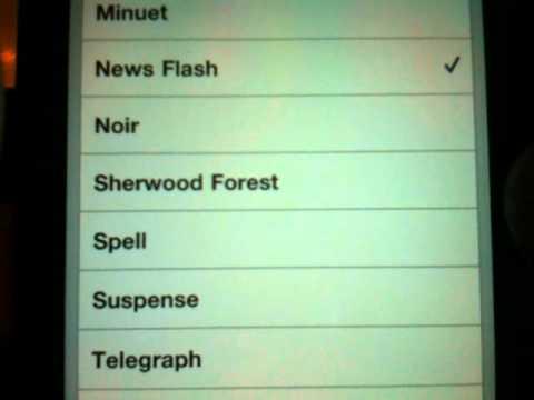 iPhone Text Tones