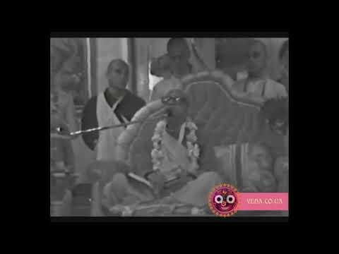 Шримад Бхагаватам 1.8.25 - Шрила Прабхупада