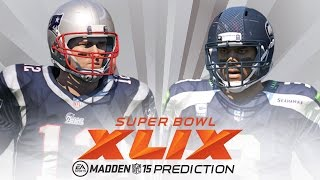 Repeat youtube video Super Bowl Predictions: Seattle Seahawks vs New England Patriots in 2015 Super Bowl