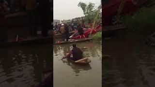 Toàn cảnh vớt xe tai nạn tại cầu Cậy - Bình Giang (Hải Dương 11/12/2017)