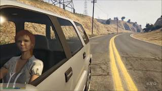 Grand Theft Auto 5 - First Person Mode Open World Free Roam Gameplay (PS4 HD) [1080p]
