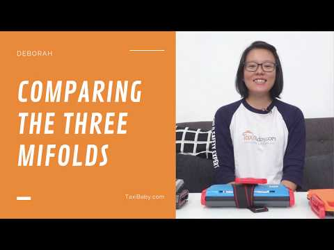 #DebCompares | What's The Difference Between The Three Mifolds?