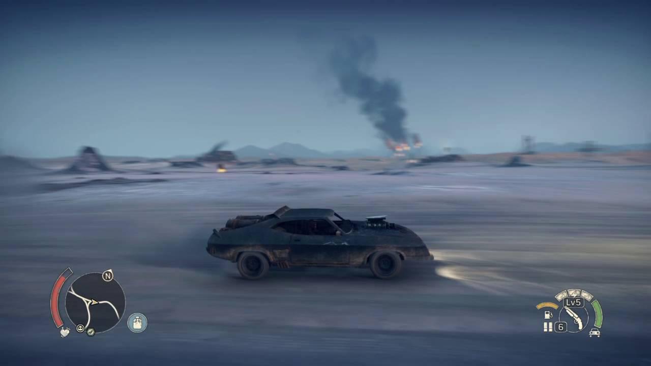Mad Max V8 >> Mad Max The Game Max S V8 Interceptor Youtube