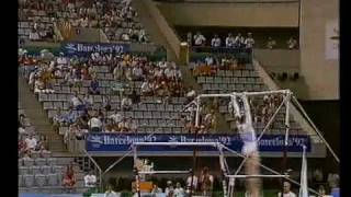 1992 Olympics - Gymnastics AA Final Part 1 - a different perspective.....