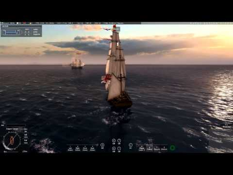 Naval action: How to use manual sails