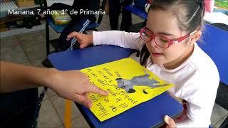 Lectura para niños con síndrome de Down