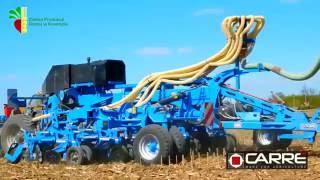 Innowacyjny bezorkowy siew pasowy kukurydzy 2016 Kowróz Fendt 936   Carre