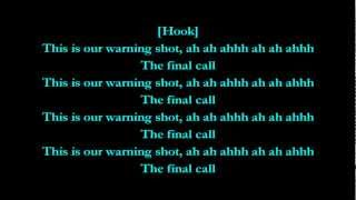 Warning Shot - Machine Gun Kelly feat. Cassie (Lyrics) HD
