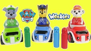 Paw patrol weebles and toy cars