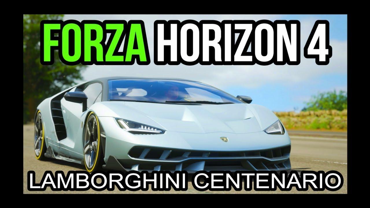 Forza Horizon 4 Buying Tuning Gameplay Of The Lamborghini