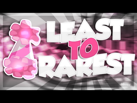 Least to Rarest; PARTY HATS! + Their Values! {AJ} ♡