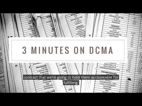 Learn about DCMA from Gen Wendy Masiello