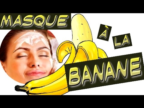 masque la banane visage miel citron et yaourt super hydratant youtube. Black Bedroom Furniture Sets. Home Design Ideas