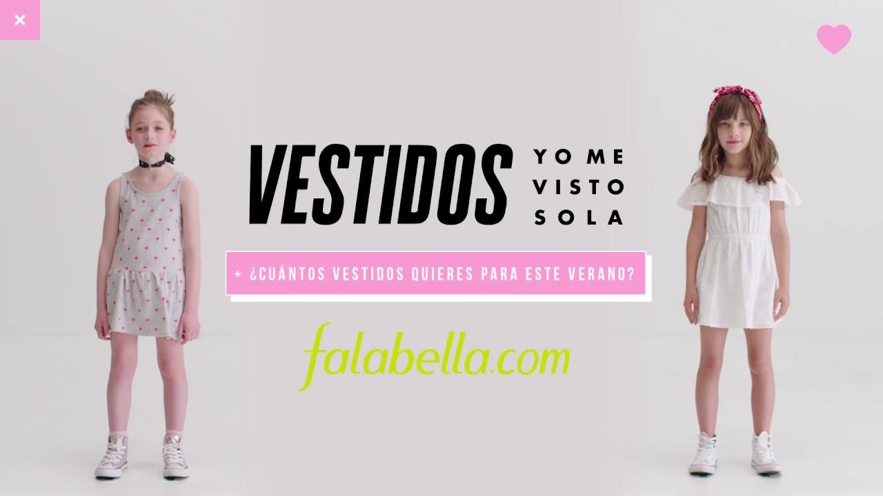 Vestidos de fiesta falabella 2019