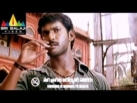 Bhayya Movie Bus Stop Fighting Scene   Vishal, Priyamani   Sri Balaji Video
