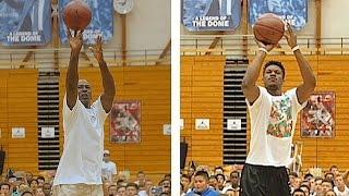 Michael Jordan Vs. Jimmy Butler Shooting Contest
