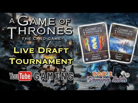 Game of Thrones: Card Game 2nd Edition - Live Draft Tournament