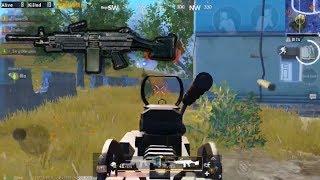 M249 Spraying Spree | PUBG Mobile