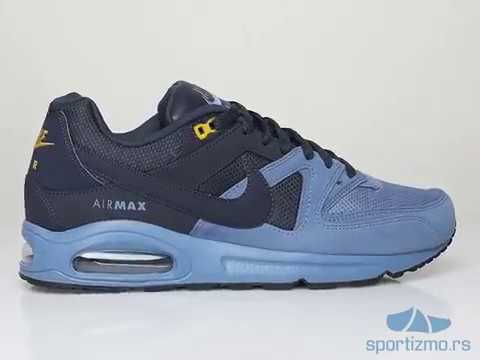 blue nike air max command