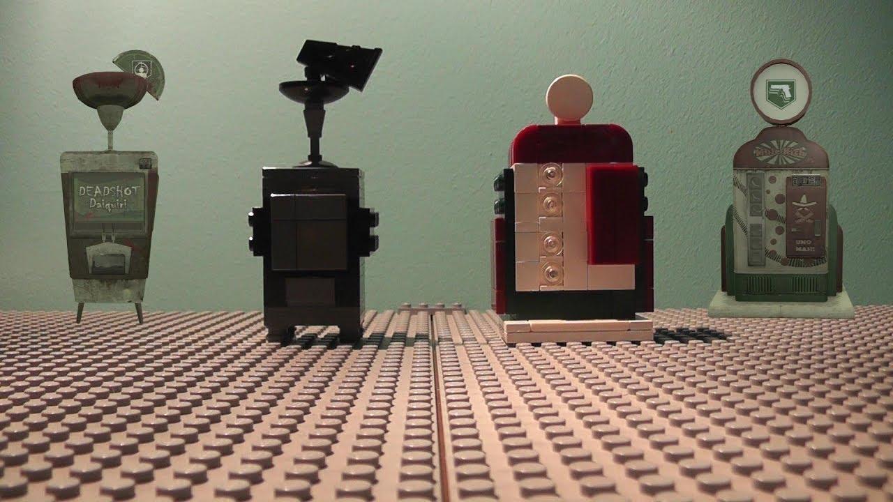 Mule Kick Machine Lego Zombies Perk Mach...