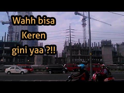 Penampakan Indah Jalan Tol Dengan Jalur Mrt Bekasi Cikampek Youtube