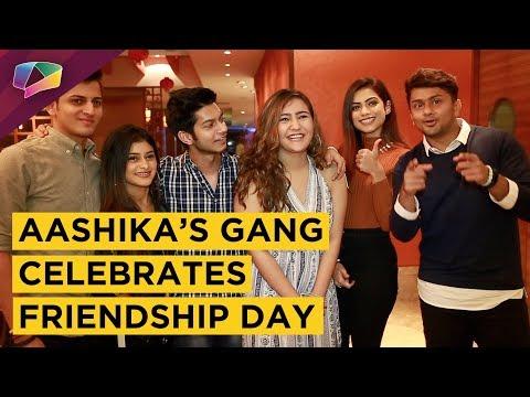 Aashika Bhatia Celebrates Friendship Day With Awez, Nagma, Ali, Anam & Nikhil   Exclusive