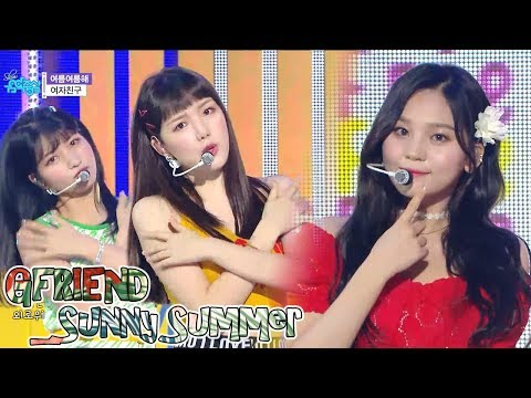 [Comeback Stage]GFRIEND - Sunny Summer ,   -   Show Music core 20180721