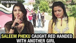 Hyderabadi Comedy Movies | Salmeen Pheku Caught Red Handed With Another Girl | Paisa Potti problem