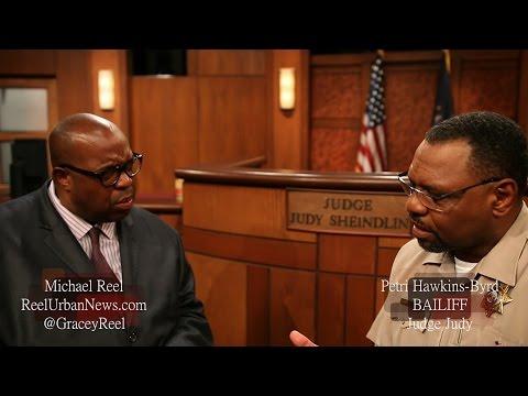 JUDGE JUDY BAILIFF PETRI HAWKINS BYRD EXCLUSIVE