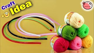 DIY Sparrow Nest Making At Home | ROOM Showpiece | Wall Hanging Using Hair Band | Handmade Craft