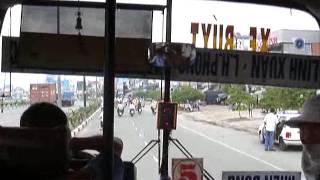 베트남버스안에서