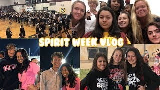 SPIRIT WEEK + football game & pep rally