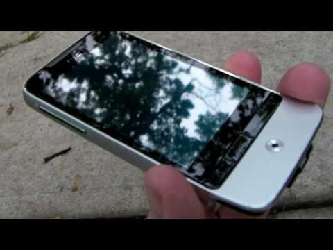 HTC Legend Drop Test