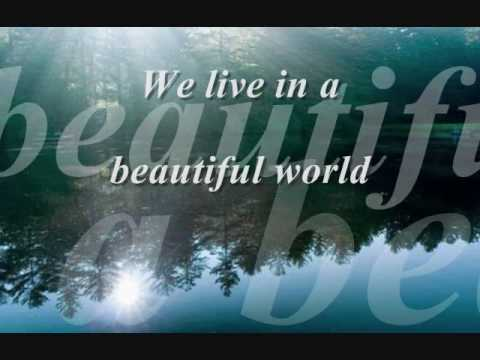 Coldplay - Don't Panic/Beautiful World- Lyrics